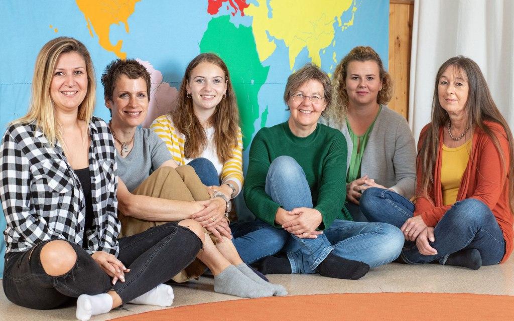 Das Pädagoginnenteam im IchDuWir Montessori Kinderhaus - das beste Team der Welt für unsere Kinder.